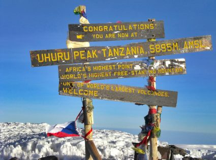 Mt. Kilimanjaro, the roof of Africa
