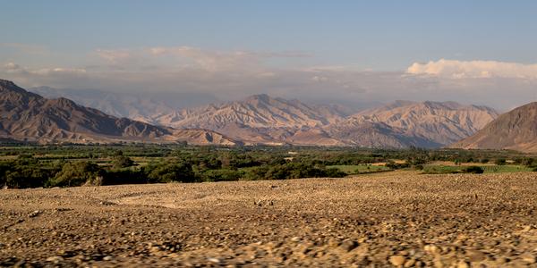 Nazca valley, in ica, Peru.