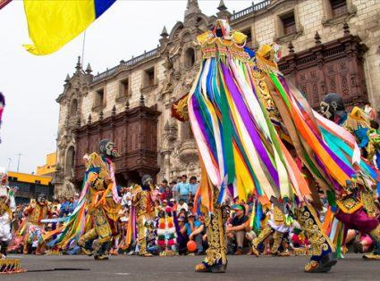 street festival in peru