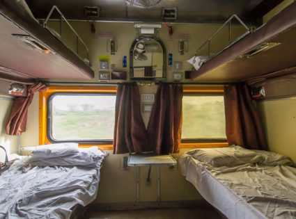 berth on train india