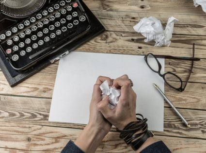 writers block while traveling