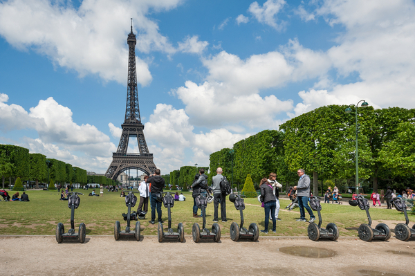 segway tours in Paris