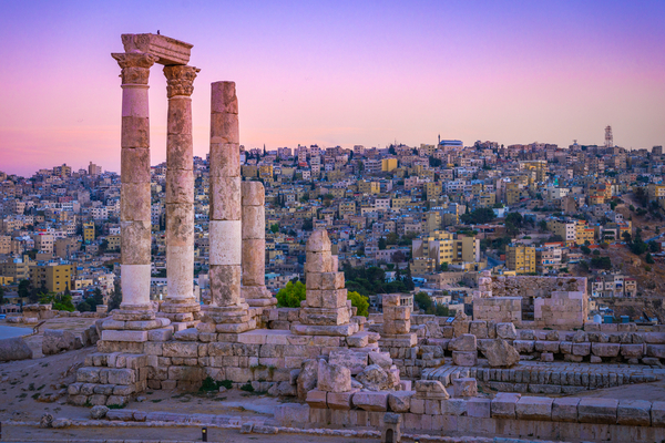 Amman, Jordan its Roman ruins