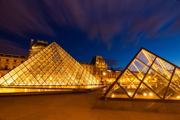 Louvre is the biggest Museum in Paris