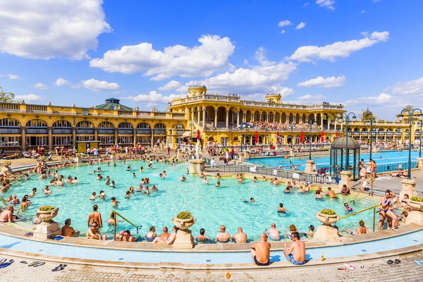 baths in hungary