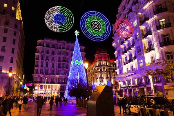 Things To Do During The Christmas Holiday in Madrid Spain