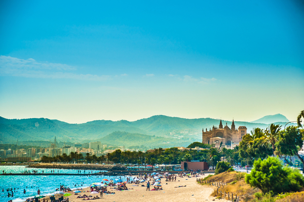Palma-de-Mallorca, Balearic islands, Spain.